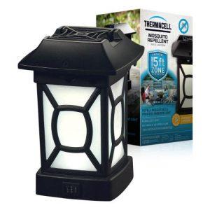 Lampion cambridge to stylowe i pięknie się prezentujące urządzenie na komary