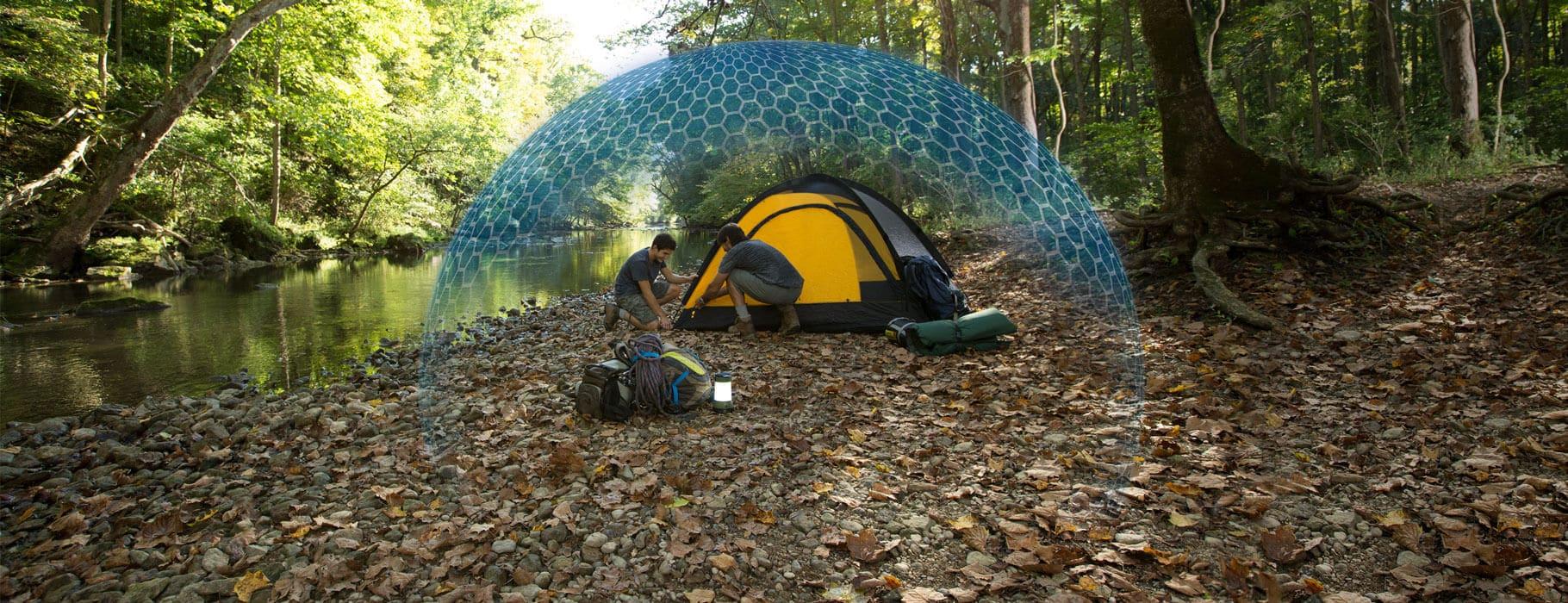 Produkty na komary Thermacell parasol Ochronny urządzenie na komary